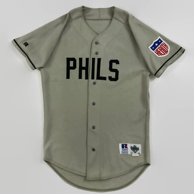 92afa9cfc33 Philadelphia Phillies Game Issued Authentic MLB Russell
