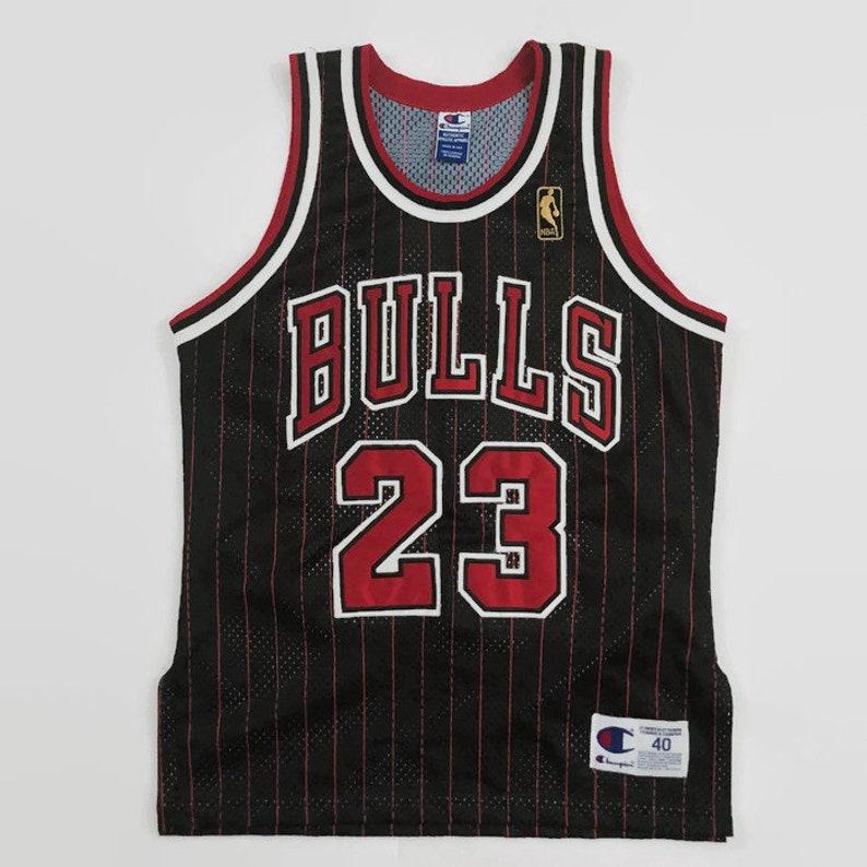 4dce6921e7e Michael Jordan Chicago Bulls Authentic NBA 50th Anniversary | Etsy