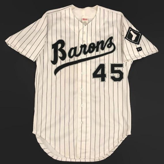 best authentic 85b7e df437 Michael Jordan Birmingham Barons Chicago White Sox Authentic MiLB AA Wilson  Baseball Jersey Size 42 Circa 1994