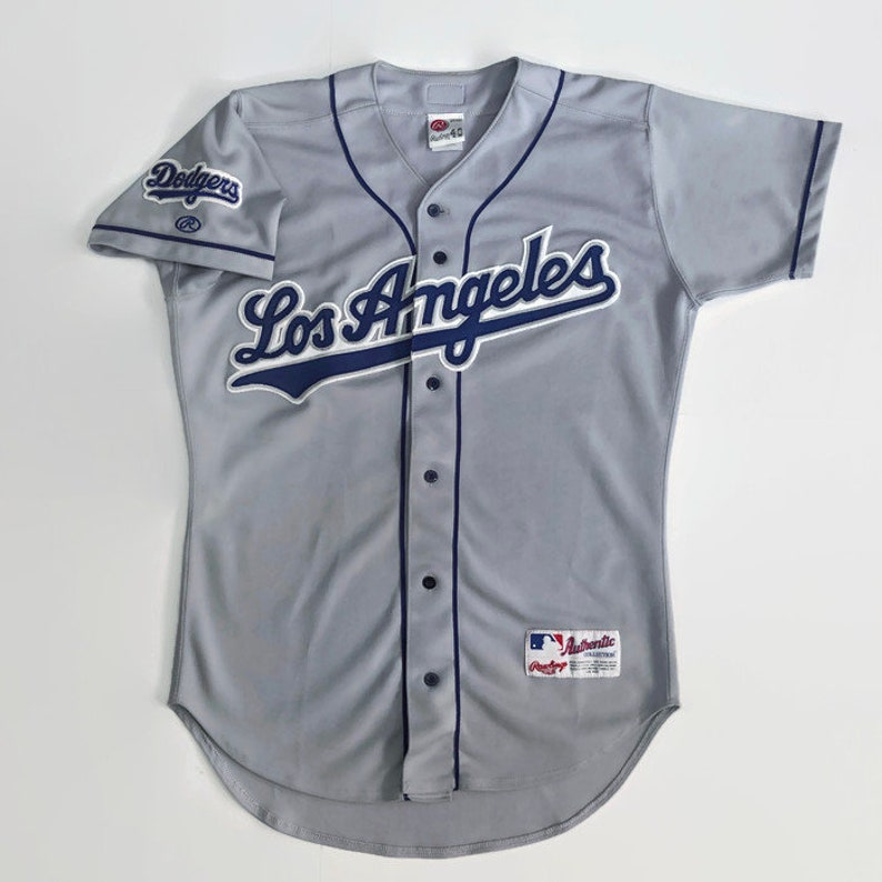 official photos 5ebd7 9b54a Los Angeles Dodgers Authentic MLB Rawlings Baseball Jersey Size 40 Medium  Circa 1999-2000
