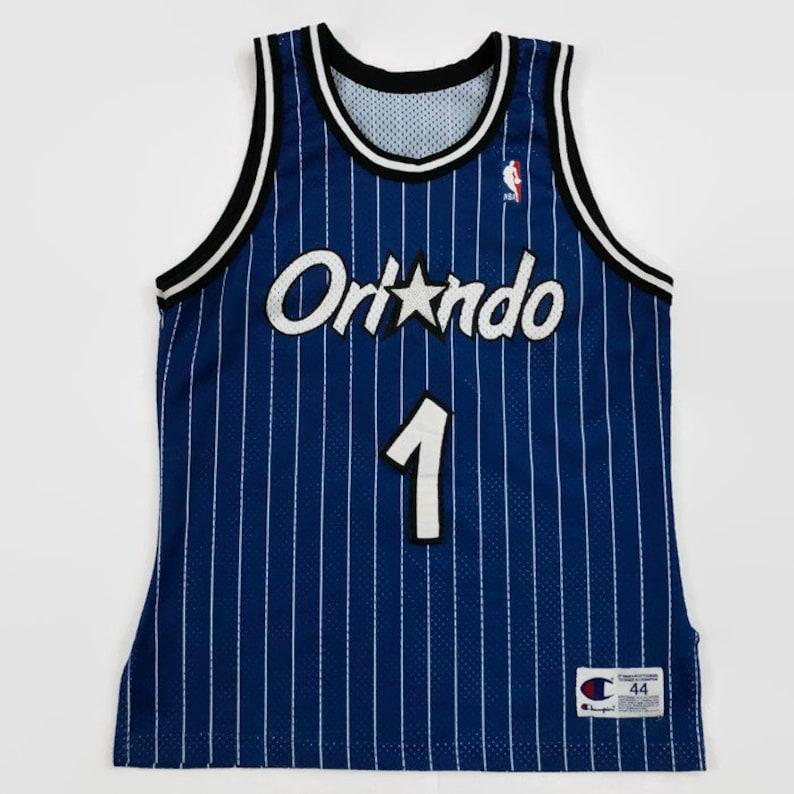 more photos c841b cf363 Anfernee Penny Hardaway Orlando Magic Authentic NBA Champion Basketball  Jersey Size 44 Large Circa 1990s
