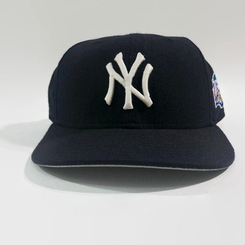 cddb4a03 New York Yankees Authentic MLB New Era 1998 World Series Fitted Baseball  Hat Size 7 1/8 Circa 1998