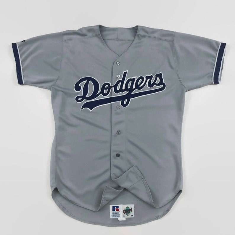 0ee90137f74 Los Angeles Dodgers Game Issued Authentic MLB Russell Athletic