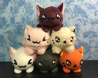 Cute Handmade Cat Plush