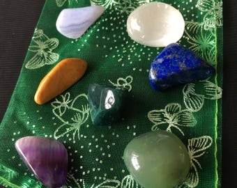 MENS PROSTATE health supporting crystal healing set of four