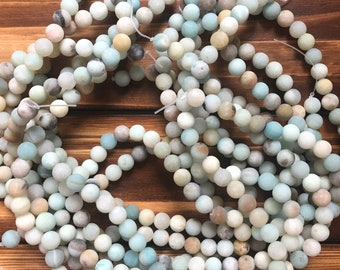Round Stone Beads Natural Map Jaspers Stone Beads DIY  Jewelry Making Bracelet Necklace Beads High Quality Beads Grade AAA+4681012mm