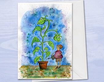 Plant Birthday Card For Lover Gardener Gardening Funny Cards Men Dad Allotment