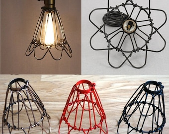 Wire Lampshade | Wire Lampshade Etsy
