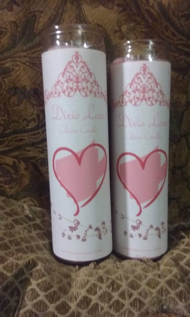 Dixie Love 7 Day Conjure Candle Dressed and Loaded