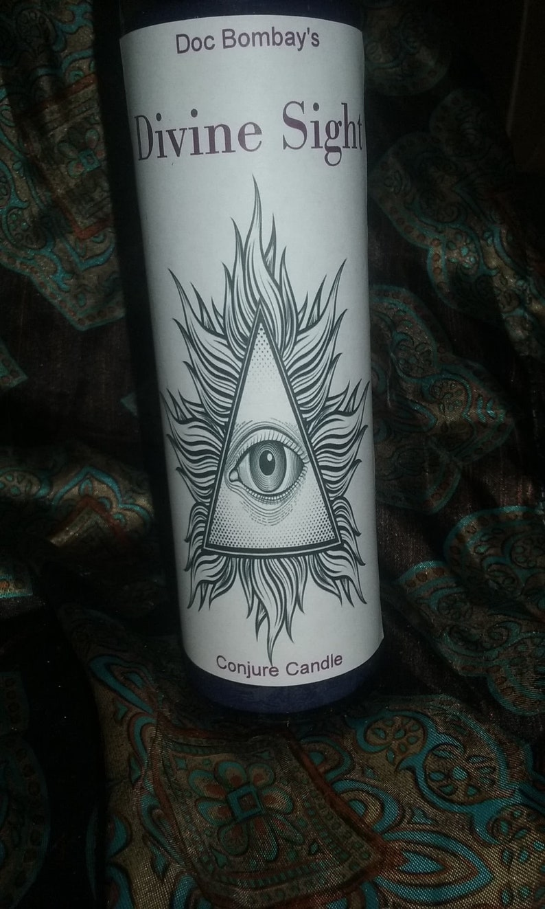 Divine Sight conjure candle