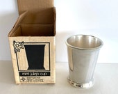 Vintage Julep Cup by International Silver Co. (in original box), Vintage Silver-Plated Julep Cup