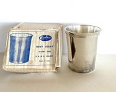 SALE Vintage Silver-Plated Julep Cup by Eastern Silver Co. (in original box), FREE SHIPPING
