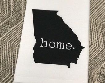 Free Shipping Kentucky State Home 100/% Ringspun Cotton Flour Sack Tea Towel Housewarming Gift Fixer Upper Style
