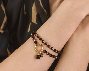 GOLDEN CHERRY Wrap Bracelet
