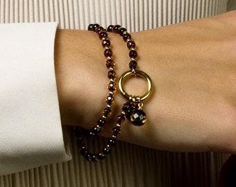 Sparkling 2-Strand Bracelet BLISS