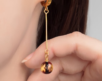 Amber Drop Earrings BLISS