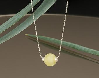 Amber Pendant Necklaces