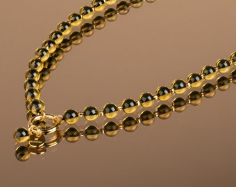 Baltic Amber Bead Necklace TIGER