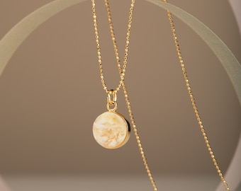 Disc Necklace for Women MARCIPANO