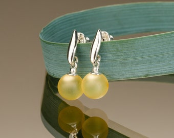 Amber Drop Earrings LEMON BERRIES