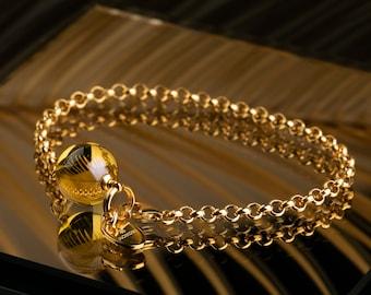 Baltic Amber Bracelet for Women, Amber Bracelet Women of Baltic Amber Jewelry for Women, Simple Bracelet, Valentines Gift for Women