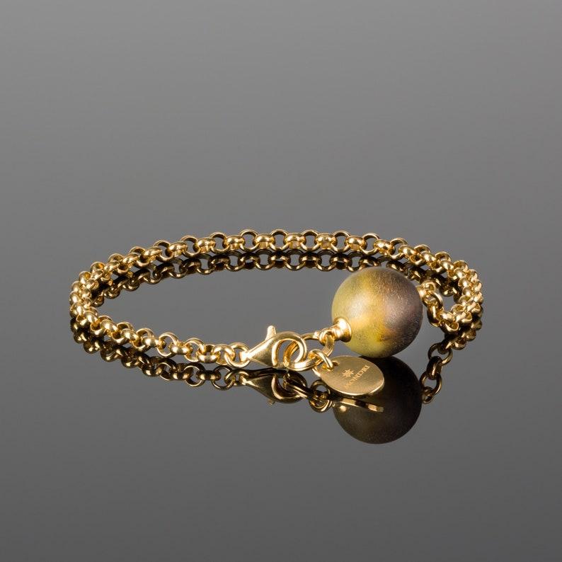 Minimalist Bracelet for Women Amber Bracelet Adult Jewelry image 0