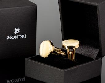 Amber cufflinks men's, Gold cufflinks, Personalized cufflinks, Baltic amber jewelry, Studs cufflinks, White amber, Geometric cufflinks