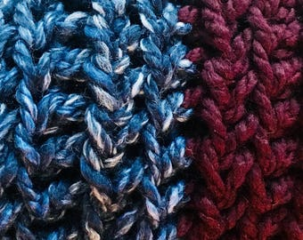 Two-toned Snood/Infinity Scarf