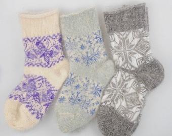 100% Pure cashmere Socks - Women