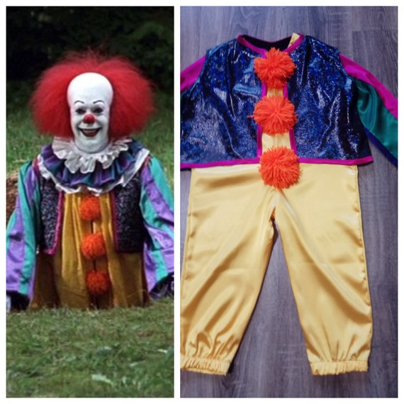 Clown costume Pennywise costume Pennywise the clown Toddler pennywise Cosplay costume Adult costume Pennywise costume kids Halloween costume