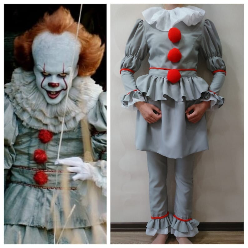 Pennywise Costume Kids Pennywise It Costume Cosplay Baby Etsy