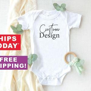 Personalized baby girl Onesie\u00ae Take Home baby shower gift Coming home outfit Josie Kate Design Custom baby Onesie\u00ae Newborn gift