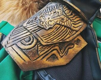 Loki Avengers Cosplay: shoulder pad