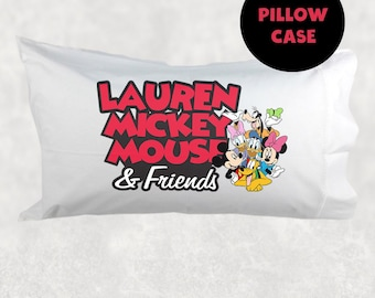 Mickey Mouse Roadster Pillow Case