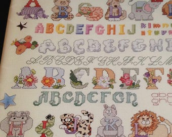 The Ultimate Cross Stitch Alphabet Book Over 100 different alphabets