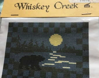 Cross Stitch Midnight Stroll by Whiskey Creek