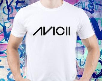 66798b2b6981b AVICII shirt  Avichii logo tshirt  Avicii t-shirt  House Music  Dj t-shirt   Avicii tribute  Avicii t shirt  mens t shirt  men tee (B195)