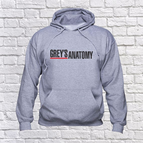 Greys Anatomy Logo Sweatshirt Greys Anatomy Tv Series Hoodie Etsy