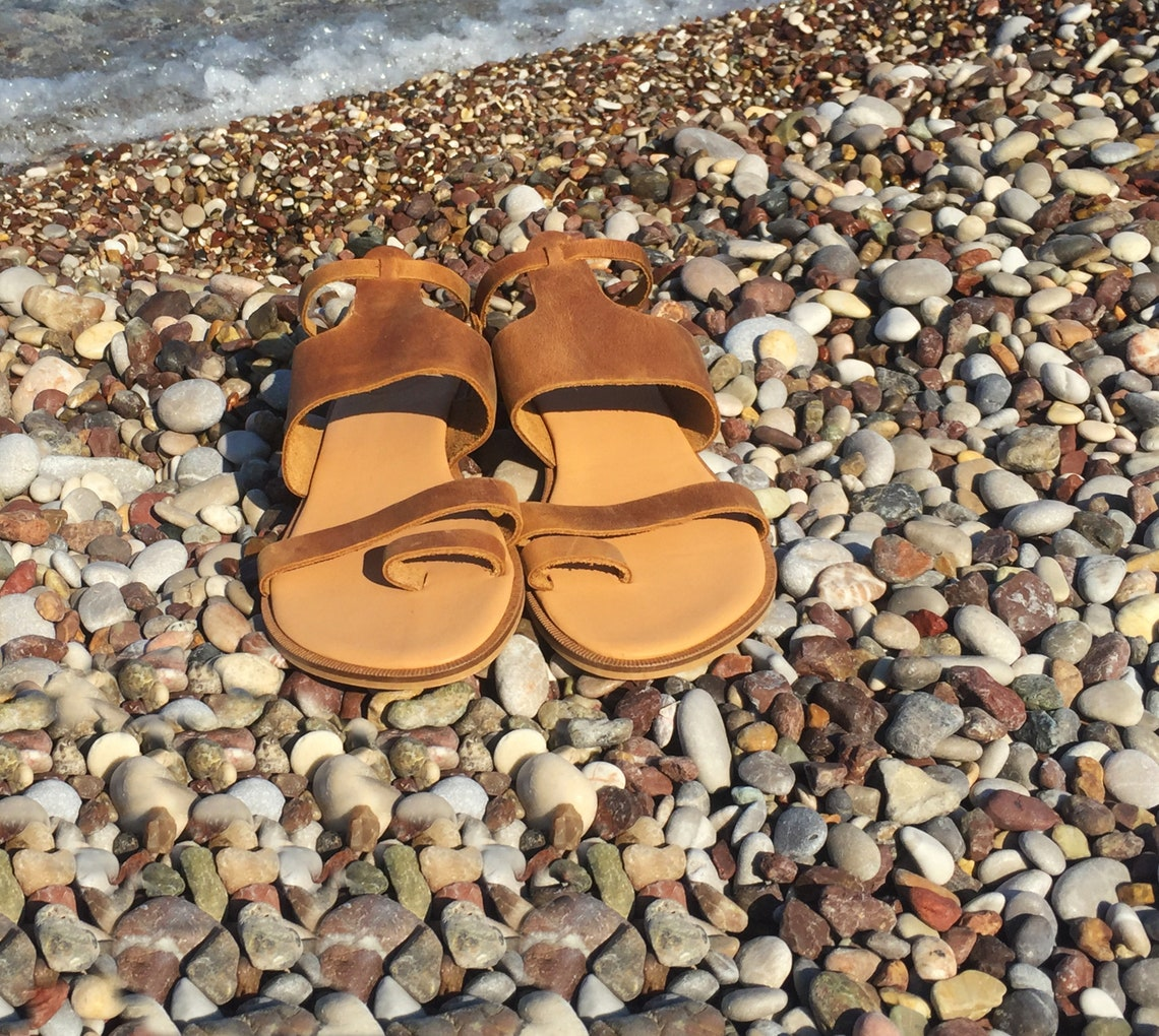 Boho Leather Sandals Handmade To Order Women Shoesancient - Big Sale 8tEAd