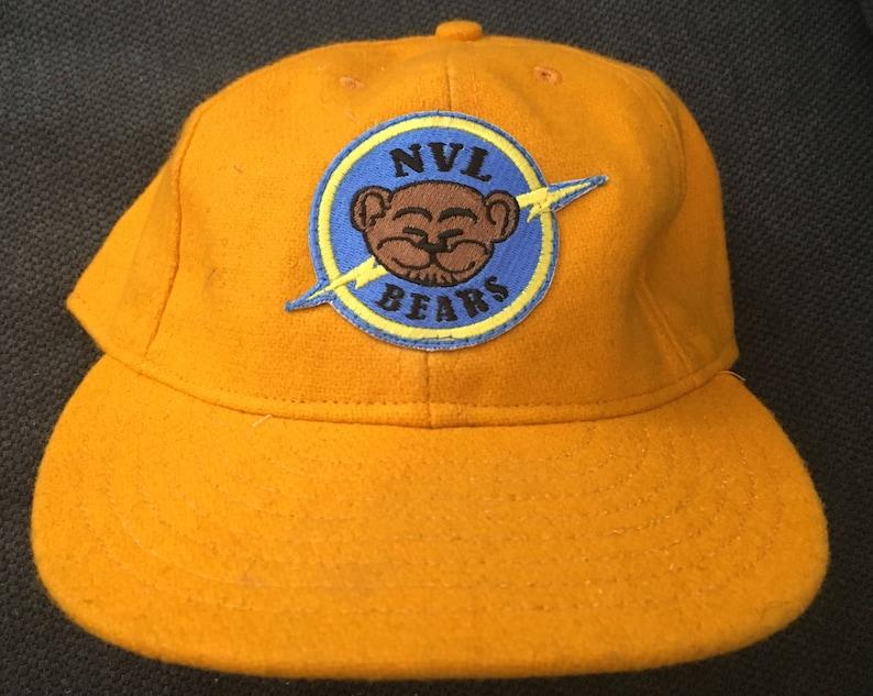 a56c9ec5e BAD News BEARS Baseball Cap Custom Authentic HAT   Etsy