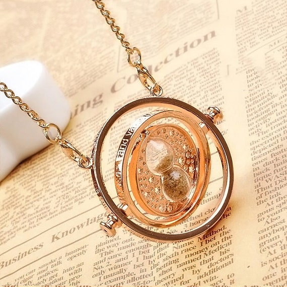 Harry Potter Necklaces Variety Timeturner   Deathly Hallows   Houses  Books   Golden Snitch by Etsy