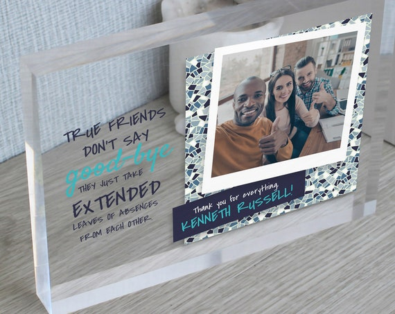 Going Away Gift For Friend | Moving Away Gift | Goodbye Gift | Long Distance Gift | Leaving Gift | Leaving Job Gift