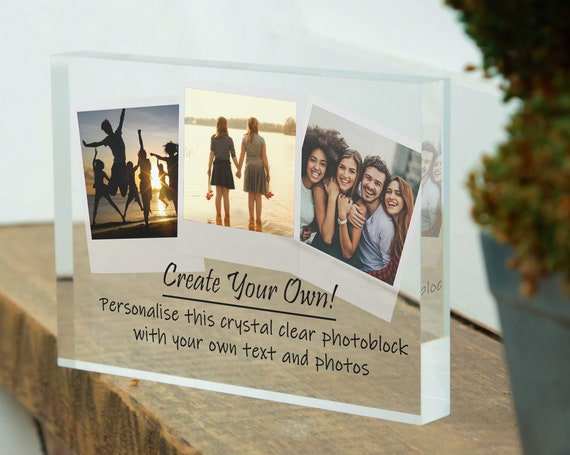 Custom Photo Frame For Best Friend | Personalised Friend Frame | Picture Frame For Friend