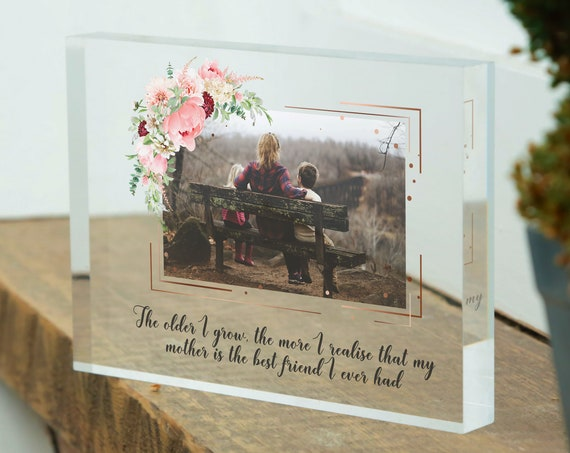 Mothers day gift from daughter | Grandmother First mothers day gift from son | 1st mothers day gift | Mothers day frame