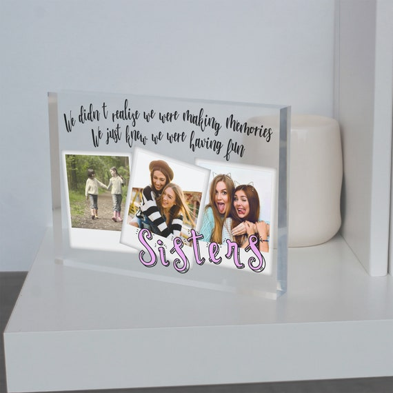 Bride gift from Sister In Law Wedding gift, 40th birthday gift for sister