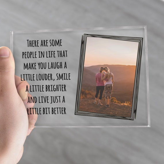 """PERSONALISED PHOTO FRAME (3x4"""" or 5x7"""") 