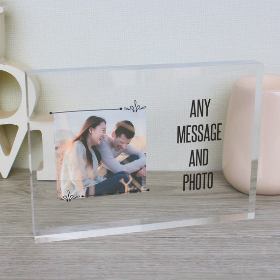Class of 2019 college student gift, graduation picture, medical student gift, glass photo block