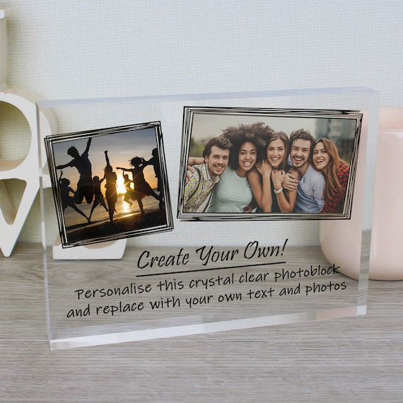 Multi Photo Frame, Three Best Friends Personalised Picture Frame