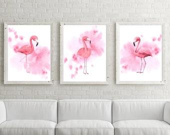 Flamingo Bedroom Etsy