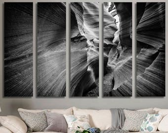 Black and White Cliffs Wall Art Cliff Canvas Print Cliff Large Wall Decor Cliff Canvas Cliff Poster Print Cliff Home Decor Gift for She